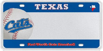 Ft. Worth Cats Baseball Club - Discontinued