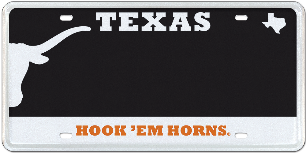 UT Longhorns Black