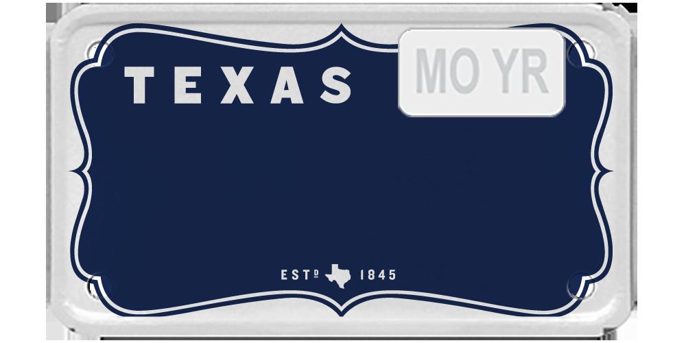 Texas Vintage Blue
